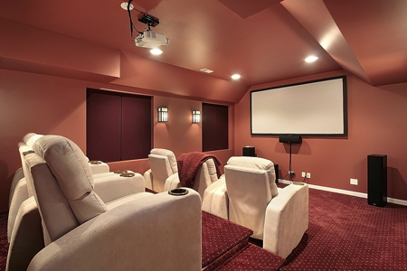 custom home theater lighting